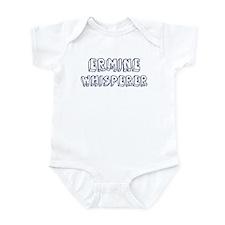 Ermine Whisperer Infant Bodysuit
