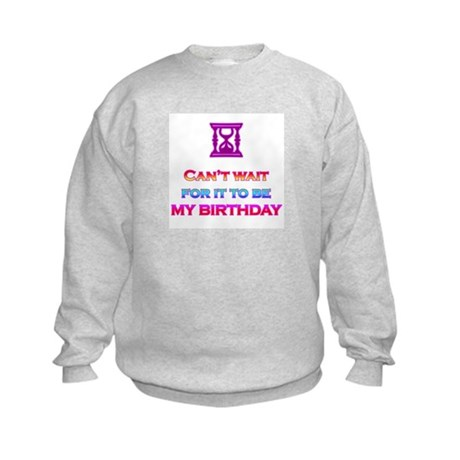 Birthday Kids Sweatshirt