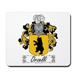Orselli Family Crest Mousepad