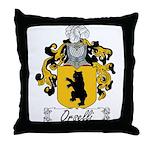 Orselli Family Crest Throw Pillow