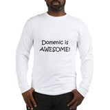 Cute I love domenic Long Sleeve T-Shirt