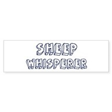 Sheep Whisperer Bumper Bumper Sticker