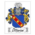 Ottaviani Family Crest Small Poster