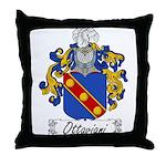 Ottaviani Family Crest Throw Pillow