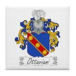 Ottaviani Family Crest Tile Coaster