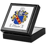 Ottaviani Family Crest Keepsake Box