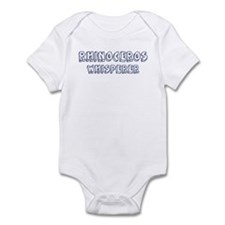 Rhinoceros Whisperer Infant Bodysuit