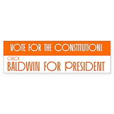 Baldwin Bumper Bumper Sticker