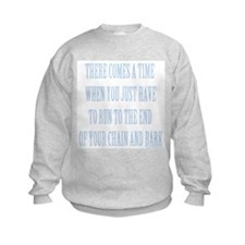 End of Chain Blue Sweatshirt