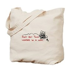 Fly Fishing Leader Tote Bag