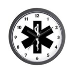 EMS Star of Life Wall Clock