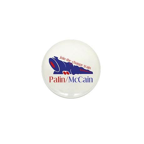 McCain Train Mini Button (100 pack)