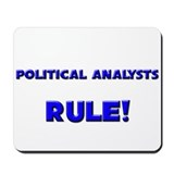 Political Analysts Rule! Mousepad