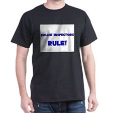 Police Inspectors Rule! T-Shirt
