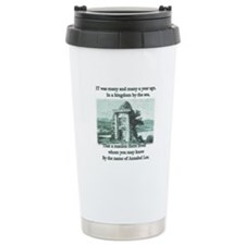 Annabel Lee Ceramic Travel Mug