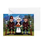 OES,Mason,Shrine Thanksgiving Greeting Card