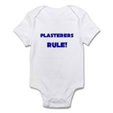 Plasterers Rule! Infant Bodysuit