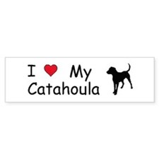I Love My Catahoula Bumper Bumper Sticker