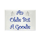 I'm An Oldie But a Goodie Tee Rectangle Magnet (10