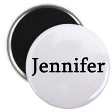 "Jennifer - Personalized 2.25"" Magnet (100 pack)"