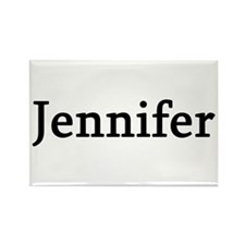 Jennifer - Personalized Rectangle Magnet