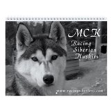 MCK Black & White Wall Calendar