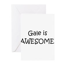 Cute I love gale Greeting Cards (Pk of 10)