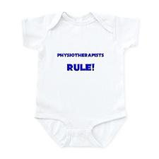 Physiotherapists Rule! Infant Bodysuit