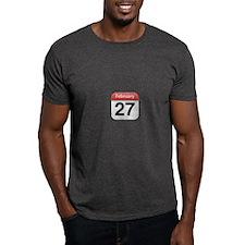 Apple iPhone Calendar February 27 T-Shirt