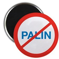 "NO SARAH PALIN 2.25"" Magnet (10 pack)"