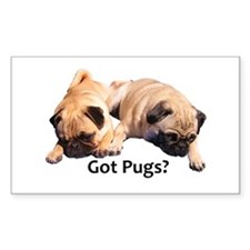 Got Pugs? Decal