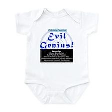 Funny Microsoft Evil Genuis Infant Bodysuit