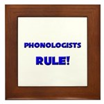 Phonologists Rule! Framed Tile