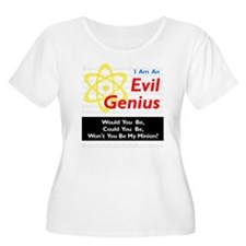 Funny Evil Genius Be My Minion T-Shirt