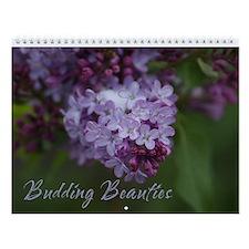 Budding Beauties Wall Calendar