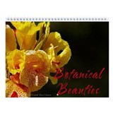 Botanical Beauties Wall Calendar
