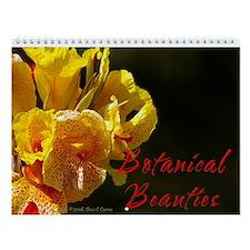 Botanical Beauties Wall Calendar