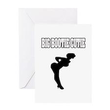 """Big Bootie Cutie"" Greeting Card"