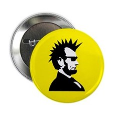 "Abraham Lincoln Rocks! 2.25"" Button (10 pack)"