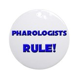 Pharologists Rule! Ornament (Round)