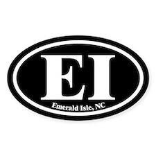 Emerald Isle EI Euro Oval Oval Decal