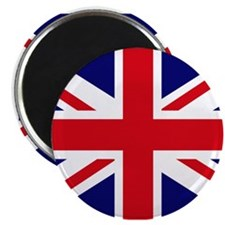 "British Flag Union Jack 2.25"" Magnet (10 pack)"