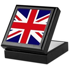 British Flag Union Jack Keepsake Box