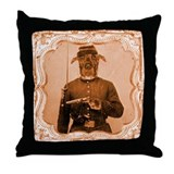 Great Dane LEFTY Throw Pillow