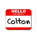 Hello my name is Colton Postcards (Package of 8)
