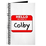 Hello my name is Colby Journal