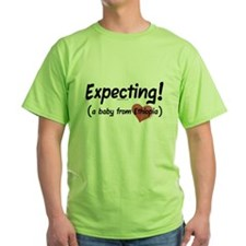Expecting! Ethiopia adoption T-Shirt