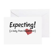 Expecting! Kazakhstan adoption Greeting Card