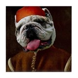 Bulldog BOTTICELLI Tile Coaster