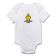 Geocaching Chick Infant Bodysuit